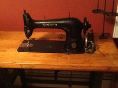 New addition to my sewing room! Singer 31-15.