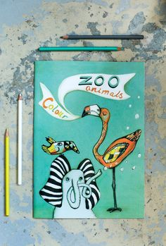 Colour Zoo Animals | 35 Coloring Books For People Of All Ages