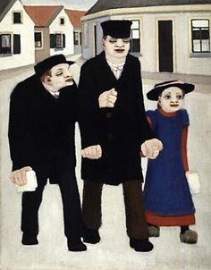 De blinden - Bart van der Leck (1876 - 1958)