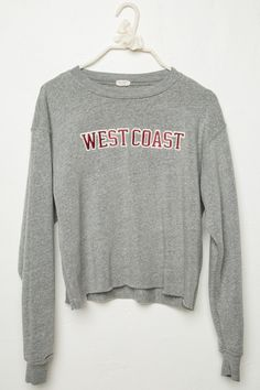 Brandy ♥ Melville | Acacia West Coast Patch Sweatshirt - Graphics