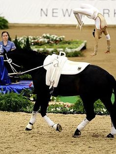 @Laurabeth Guenthner this is me en route to gold at my first horse show. Too bad I won't get to show off in West Palm