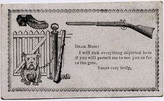 Has anyone else heard of acquaintance cards from the 19th century? Humor seems like the perfect way to break the ice and get to know someone!