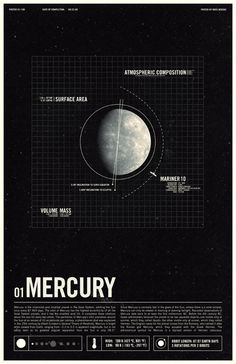 "Ross Berens' Planets - Mercury.  There's one for each planet.  Perhaps ""switch planets!"" every hour?"