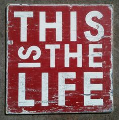 This is the Life Sign--Extra Large. $125.00, via Etsy.