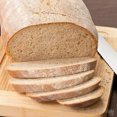 Good sourdough bread with a soft center and crispy crust. Soft Sourdough Bread, Bread Baking, Baking Recipes, Muffins, Food And Drink, Sweet, Delicate, Bread Squishy, Baking