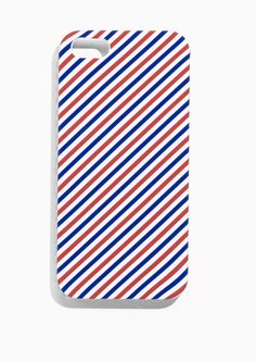 Featuring a classic par avion design, this hard case adds a très-chic vibe to your smartphone and helps to protect it from impact damage. Suitable for iPhone 5/5S.