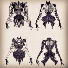 • art fashion beautiful black dark amazing goth gothic victorian dark fashion gothic fashion foxxinthewind •