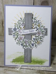 Stamp & Scrap with Frenchie: Easter with Circle of Spring