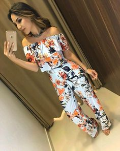Enterizo Crop Top Outfits, Dressy Outfits, Cute Summer Outfits, Boho Outfits, New Outfits, Spring Outfits, Cute Outfits, Fashion Outfits, Space Fashion