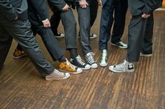 Customize your wedding with PrettySneaky knit chucks! Choose from any of the designs listed below or contact me with ideas for custom designs or Best Groomsmen Gifts, Groomsmen Outfits, Bridesmaids And Groomsmen, Groomsman Gifts, Chucks Wedding, Wedding Sneakers, Forest Wedding, Dream Wedding, Fall Wedding