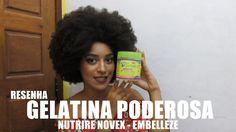 Resenha Gelatina Poderosa da Linha Meus Cachos/Nutrire Novex Embelleze  Produtos para cabelos crespos e cacheados - Blog TIPO4