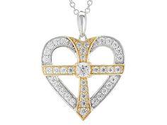 Remy Rotenier For Bella Luce® Diamond Simulant Rhodium Over Sterling