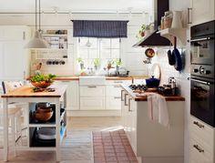Výsledek obrázku pro rustikální kuchyně ikea