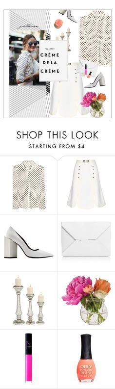 """""""creme de la creme"""" by little-curly-juli ❤ liked on Polyvore featuring RED Valentino, Peter Pilotto, CO, Pierre Hardy, J.W. Anderson, Home Decorators Collection, Cultural Intrigue, NARS Cosmetics and ORLY"""