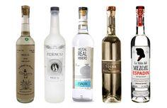 Botellas de Mezcal