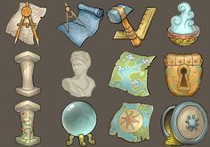 Icons of Age of Empires Online, from Pinterest user Matthew Harris