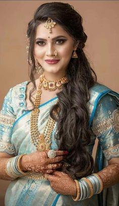 Beautiful Girl Indian, Most Beautiful Indian Actress, Indian Hair Cuts, Indian Women Painting, Exotic Women, Glamorous Makeup, Indian Models, Indian Hairstyles, India Beauty