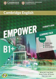 Doff, Adrian. EMPOWER B1+. Student's Book. Cambridge English, 2016.