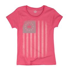The perfect shirt for the 21st century farmgirl. Wear your colors and wear them with pride.Let everyone know that you're a farm-raised country girl and proud of it!