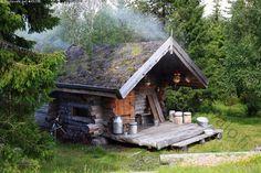 Savusauna  - sauna aito savusauna savu Lappi matkailu löyly kuuma Modern Saunas, Finnish Sauna, Off Grid Cabin, Guest Cabin, Best Cleaning Products, Lean To, Cabins In The Woods, Building A House, Cabanas