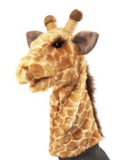 Amazon.com: Giraffe Stage Puppet: Folkmanis Puppets: Toys & Games