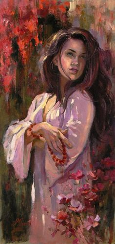 Oil on Canvas by Irene Sheri. Irene Sheri was born in the city of Belgorod-Dnestrovsky, Ukraine in Her diverse heritage probably makes her one of Woman Painting, Painting & Drawing, Art Design, Art World, Oeuvre D'art, Irene, Female Art, Les Oeuvres, Oil On Canvas