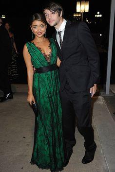 Beautiful green dress!