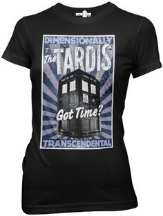Doctor Who Dimensionally Transcendental Womens Juniors Tee (Extra Large, Black) Ripple Junction,http://www.amazon.com/dp/B007JZ9WEE/ref=cm_sw_r_pi_dp_Ktslrb0AV0KH3WR7