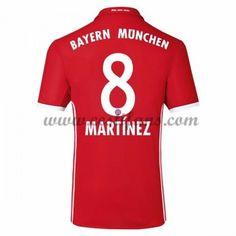 Bayern Munich Fotbalové Dresy 2016-17 Martinez 8 Domáci Dres