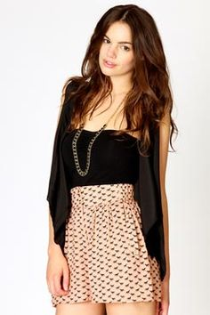 high waisted shorts . love it'