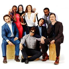 Le groupe de The Walking Dead [Photo du jour]