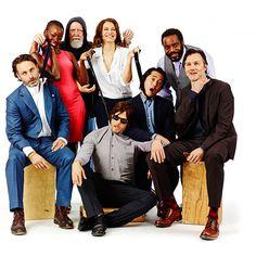 Le groupe de The Walking Dead [Photo du jour]