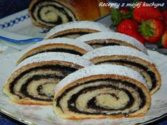 Sweet Desserts, Sweet Recipes, Czech Recipes, Ethnic Recipes, Strudel, Ratatouille, Muffin, Food Porn, Food And Drink