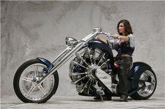 星型エンジンバイク2型