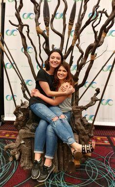 Natasha Negovanlis & Elise Bauman at Clexacon
