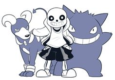 I've been thinking about pokemon but also I'm always thinking about Undertale sooo