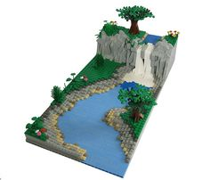 LEGO Express — legogogo: legoexpress: LEGO Landscape (via...