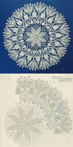 Free Crochet Doily Patterns, Crochet Circles, Granny Square Crochet Pattern, Crochet Art, Crochet Squares, Thread Crochet, Crochet Motif, Crochet Flower Tutorial, Crochet Headband Pattern