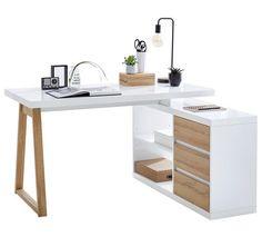 Eckschreibtisch mit Regal und Schubladen - durchdachte Möbelkombination ✓ 30 Tage Rückgaberecht ➤ Jetzt online bei XXXLutz bestellen!