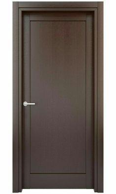 Wondrous Modern Door Casing Continuous Reveal Detail At Door Casing And Baseboard Modern Modern Wooden Doors, Wooden Main Door Design, Wooden Front Doors, Front Door Design, Modern Door, Wood Doors, Gate Design, Bedroom Door Design, Door Design Interior