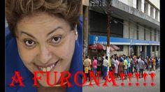😱😵A honestíssima Dilma fura a fila do INSS para se aposentar e provoca a...