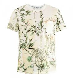 Carven Herbal-print T-shirt