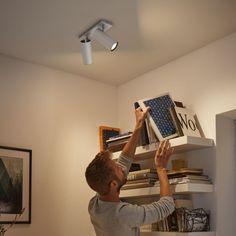Philips Hue, Led Spots, Led Lamp, Storage, Design, Furniture, Home Decor, Foyer, Products