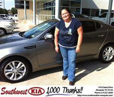 #HappyBirthday to Diane Hashimoto from Jerry Tonubbee at Southwest Kia Mesquite!