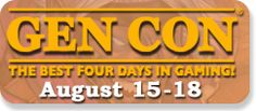 Lore is hosting a game at GenCon Indy, on Saturday, August 17, from 10-2:00. Come join us! http://www.gencon.com/