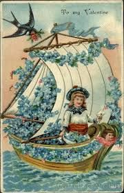 Image result for victorian scrap paper boat ship