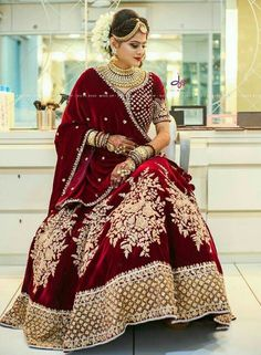 Head To These Designers Now For Some Trending And Unique Engagement Dresses. Indian Bridal Outfits, Indian Bridal Fashion, Pakistani Bridal Dresses, Indian Bridal Wear, Indian Dresses, Indian Wear, Wedding Lehenga Designs, Indian Wedding Lehenga, Designer Bridal Lehenga