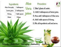 Aloe Vera Gel, Juice, Remedies, Lemon, Herbs, Food, Home Remedies, Essen, Juices