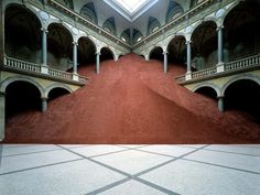 Domestication of Pyramids by Magdalena Jetelová