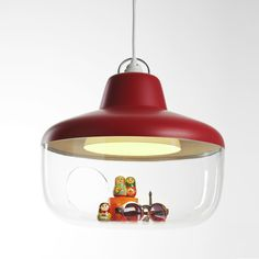 Chen Karlsson; 'Favorite Things' Ceiling Light for Eno Studio, 2013.